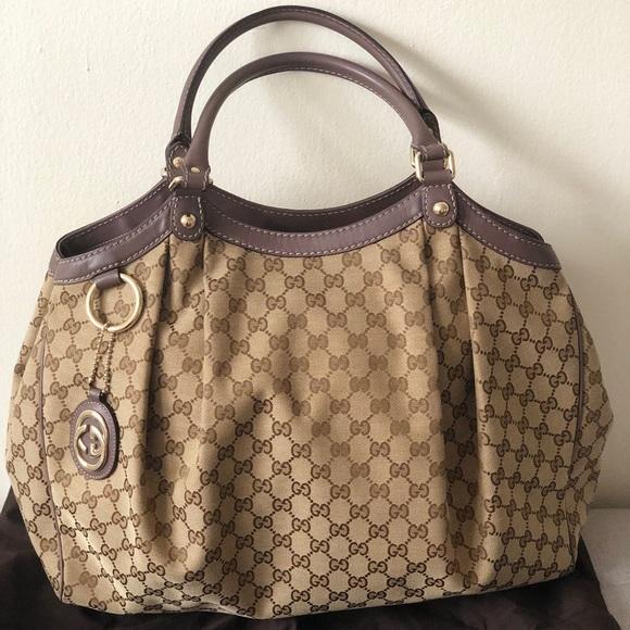 087093a525c4 Gucci Bags   Sukey Large Tote Bag   Poshmark